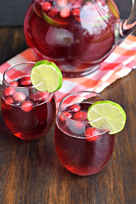 Cranberry Ginger Ale Punch - Food Fanatic