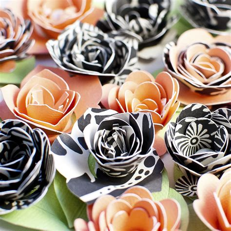 Rolled Paper Flowers | The Cutting Files