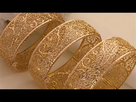 Latest Gold Bangles Designs With Weight |Gold Bangles Designs