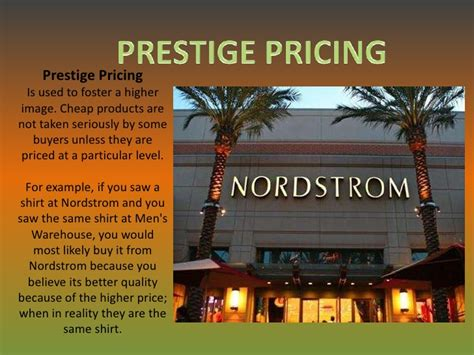 Pricing policies and strategies examples