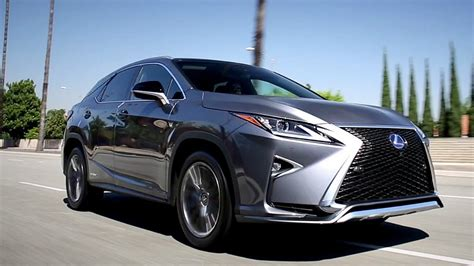 2017 Lexus RX - Review and Road Test - YouTube