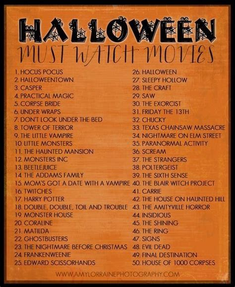 Halloween Must Watch Movies Pictures, Photos, and Images