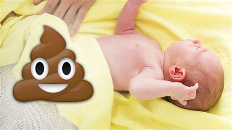 Meconium and your New Baby: Dealing with baby's first poop