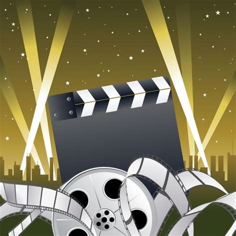 hollywood clip art pic only | Hollywood Theme | Pinterest