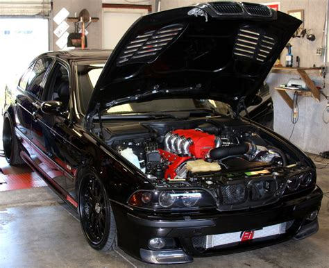 2001 BMW M5 RMS STAGE 2 SUPERCHARGER 1/4 mile Drag Racing