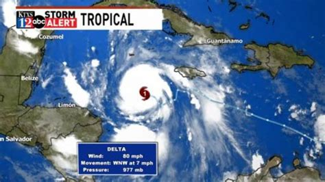 Hurricane Delta threatens Mexico, southern United States