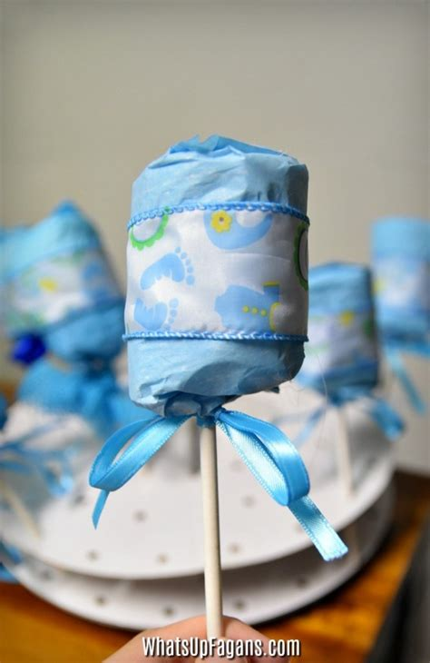 DIY Diaper Rattle: The Perfect Baby Shower Party Favor