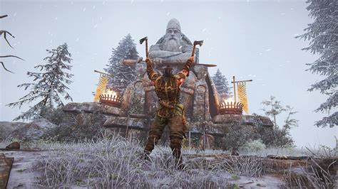 For Honor, Blades, Screen shot, Vikings, Statue Wallpapers
